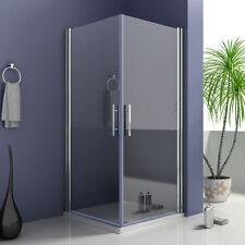 90x70x195cm Duschkabine Duschabtrennung Eckeinstieg Schwingtür Echtglas Dusche