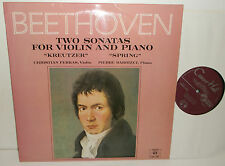 SMSA 2702 Beethoven Kreutzer & Spring Sonatas Christian Ferras Pierre Barbizet