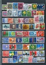 Lot Schweiz o - ab 1960  ( 38487 )