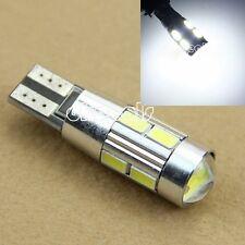 T10 W5W 10SMD 5630 LED Canbus Autolampe Licht Lizenz Kennzeichenleuchte Weiß 12V