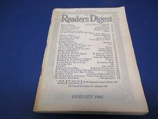 Reader's Digest, January 1940, Real Threat, Not Bombs But Ideas,Prayer For Peace