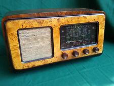Rara RADIO D'EPOCA a VALVOLE WATT TAURUS ORO Anno 1946 OTTIMA e FUNZIONANTE