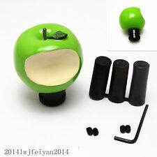 Green Bite Apple Gear Shift Head Knob Auto Car Manual Transmission Handle Stick