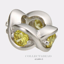 Authentic Endless Sterling Silver Citrine Heaven Bead 41400-5