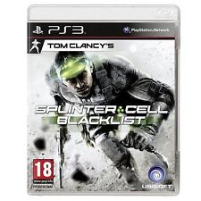 PS3 Tom Clancy's Splinter Cell: Blacklist  (Sony Playstation 3, 2013) NEW SEALED