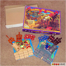 Vintage 1983 Crossbows and Catapults complete battle game set made by Lakeside