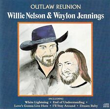 WILLIE NELSON & WAYLON JENNINGS : OUTLAW REUNION / CD (K-TEL ECD 3344)