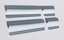 VW Polo Mk5 (released approx. 2009) 4 Door Sill Protectors / Kick plates