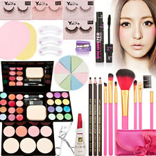 Makeup Palette Gift Kits Set Eyeshadow Foundation Powder Blusher Lip Gloss Brush