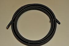 "sewer drain cable 5/8"" x 75' inner core spartan,ridgid,general,electric eel,clng"