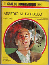 Avon Curry, Assedio al patibolo, Giallo Mondadori 1184
