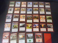 Magic the Gathering rojo verde artefacto Deck