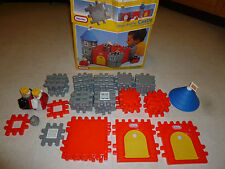Vintage Little Tikes Wee Waffle Castle Blocks Toddle Tots w/ Box & Extra Pieces
