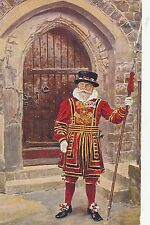 POSTCARD  MILITARY  A Yeoman  Warder   Tower of  London