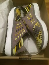 NIKE SOLARSOFT RACHE WOVEN PRM Yellow SPORT GREY Size 10 New SB Jordan