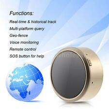 Mini GPS Tracker Locator GSM GPRS SOS Real Time Tracking Device for Car Pet Keys