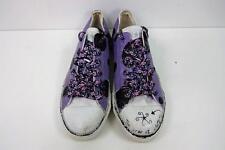 Zapatillas para mujer estilo Converse Ox Size UK 6 EU 39.5 púrpura Grado B AC071