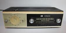 Hitachi 5 Transistor Clock Radio Model TC-500 Japan