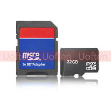 32GB Micro SD Memory Card TF Card for Cellphone Camera with SD Card Adapter