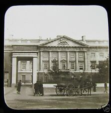 Glass Magic Lantern Slide THE ROYAL MINT C1900 LONDON