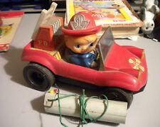 Giocattolo Vintage camionetta Pompieri con telecomando a filo