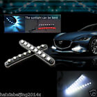 2 Pcs Car waterproof 3M Hawkeye LED Daytime Running Light DRL Fog Driving Lamp