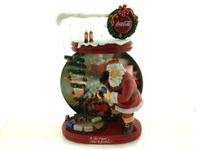 "Coca-Cola ""The Pause That Refreshes"" Santa 2004 Christmas Collector Plate"