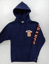 Syracuse Orange Football Basketball Hoodie Sweatshirt (Adult Small)