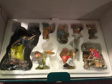 WDCC Snow White and the Seven Dwarfs Ornament Set New in Box