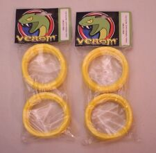 Venom 1/8 Scale Yellow Molded Inserts for RC Buggy Tires : Proline Jconcepts AKA