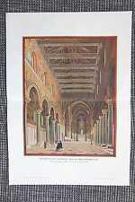Raphaels Loggia im zweiten Stockwerk Varikan Rom FARBDRUCK von 1908 Raffael Fres