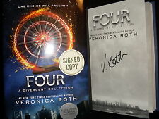 Veronica Roth signed Four A Divergent Collection 10th printing hardcover book