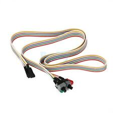 Computer Motherboard Power Cable 2 Switch On/Off/Reset HDD LED Light for ATX PC