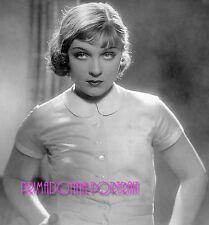 """ANNA STEN 8X11 B&W PHOTO 1932 """"Stürme der Leidenschaft"""" Hypnotic Eyes Portrait"""