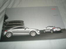 Audi TT range brochure Apr 2008 South African market English text