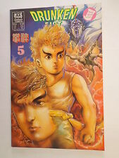 Drunken Fist Tony Wong Roger Salick Alan Wan #5 Jademan Comics December 1988 NM