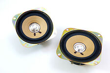 2x PIONEER TS-100 Car Vintage HIFI Full Range Speaker/Lautsprecher 4 Ω !NOS