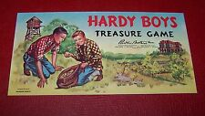 Hardy Boys Treasure Board Game 1960 Complete Vintage Parker Brothers