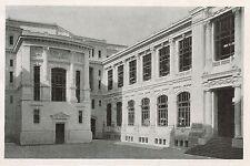 D1429 Roma - Ministero della Marina - Cortile - Stampa antica - 1928 old print