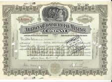 ARIZONA COMMERCIAL MINING COMPANY......1928 STOCK CERTIFICATE
