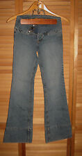 "LEI JUNIORS LEI JEANS-FLARE- COTTON BLEND-INSEAM 30""  SIZE 1"