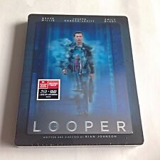 Looper Blu-Ray Steelbook [Canada] Future Shop Exclusive W/Lenticular New!