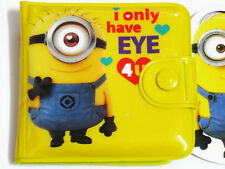Minion Despicable Me Yellow Bifold Wallet Purse NWT #024