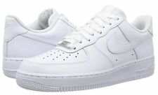 Nike Air Force 1 Low Basketball Shoes - White - Men's Size 7.5 - NEW with Box