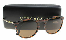 New Versace Sunglasses Men Round VE 4315 Black 518773 VE 4315 52mm
