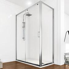 Box doccia 110x70 cristallo trasparente revesibile altezza 185 nuovo design