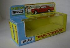 Repro Box Matchbox King Size K-22 Dodge Charger