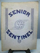 1939 Senior Sentinel, Lincoln High School, Vincennes, Indiana Yearbook
