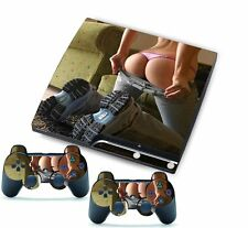 SEXY LOVE for PlayStation 3 PS3 Slim 2 Controller Awsome Custom Stickers Skins