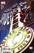 THE AMAZING SPIDER-MAN #593 SIGNED BY ARTIST JOE QUESADA & MIKE McKONE